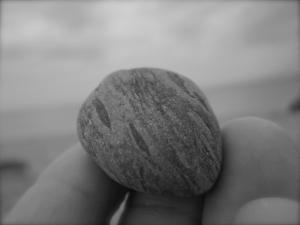 wood or stone....